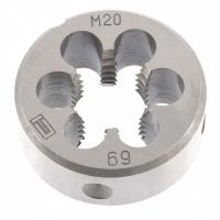 Плашка М20 х 2,5 мм. СИБРТЕХ
