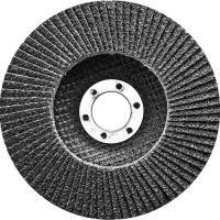 Круг лепестковый торцевой, конический, Р 24, 125 х 22,2 мм. СИБРТЕХ