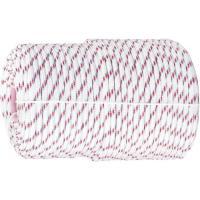Фал плетёный полипропиленовый с сердечником, 16-прядный, 6 мм, бухта 100 м, 320 кгс, Россия. СИБРТЕХ