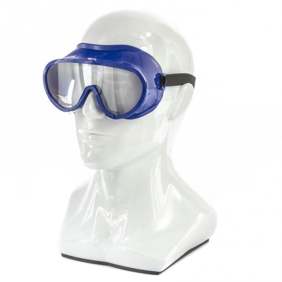 Очки защитные закрытого типа, герметичные, поликарбонат, Россия. СИБРТЕХ