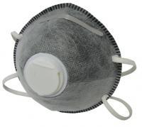 Полумаска фильтрующая (респиратор), с клапаном выдоха, FFP1